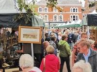 Second antiques market set for Nantwich town square