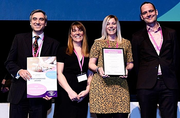 VFC with award - hospital awards