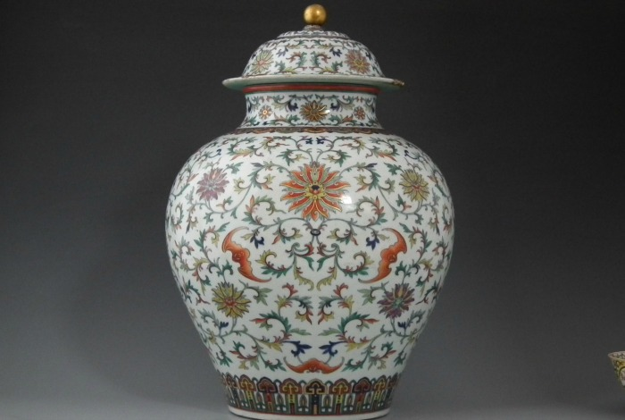 Vase at Peter Wilson auction