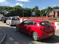 Traffic lights work on busy A530 Wistaston junction