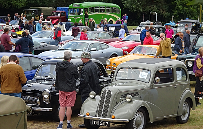 Vehicle display on Audlem - festival of transport Playing Field after parade (2) (1)