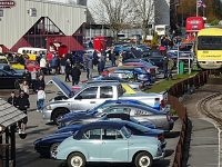 """Off The Rails Classic Cars"" entertains at Crewe Heritage Centre"