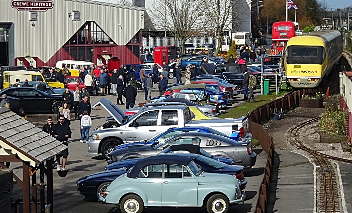 Vehicles on display at Crewe Heritage Centre (1)