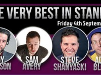 Nantwich Very Best in Stand Up lines up top acts for new season