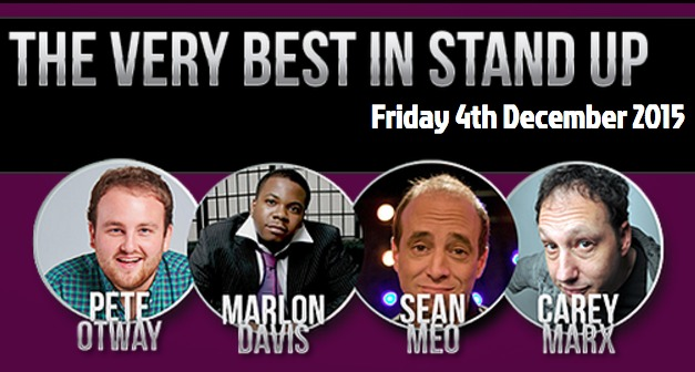 Civic Comedy - Very Best in Stand Up December 2015