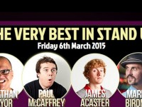 Review: Four comedians deliver at Nantwich Civic Hall