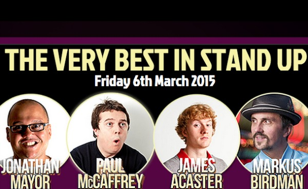 Very Best in Stand Up, March 2015