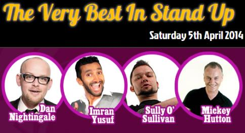 Very Best in Stand Up returns to Nantwich Civic Hall