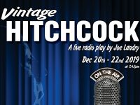 "Nantwich Players Studio team to perform ""Vintage Hitchcock"""