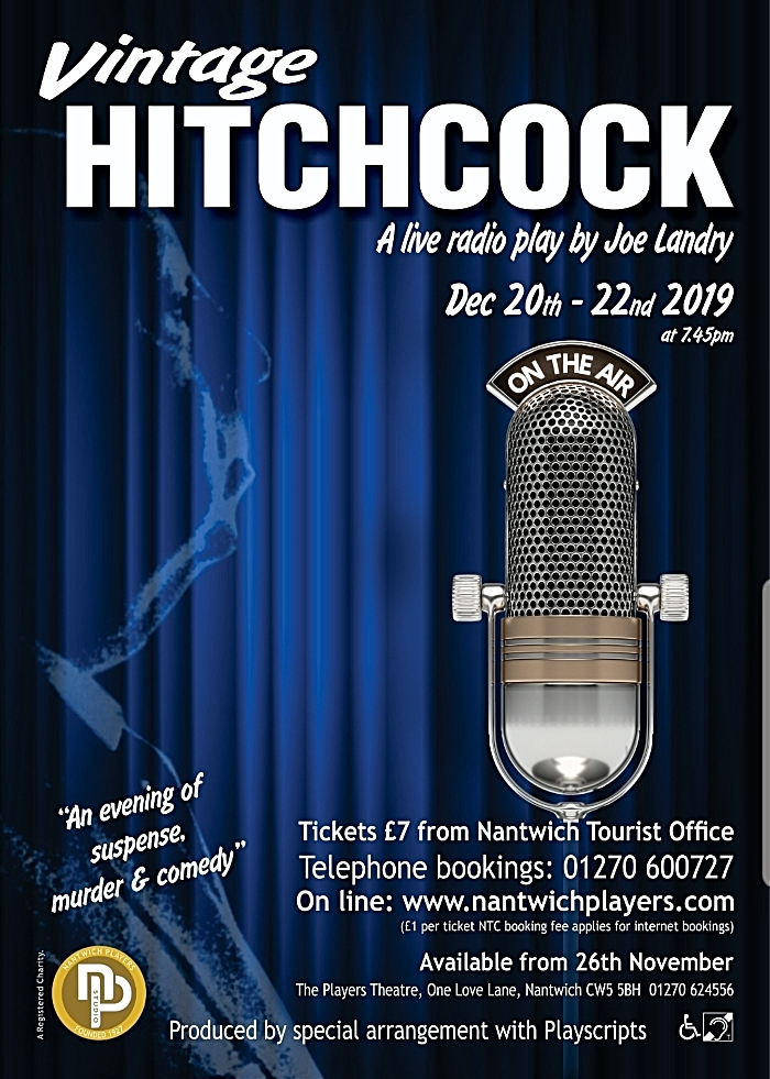 Vintage Hitchcock - Nantwich Players Studio
