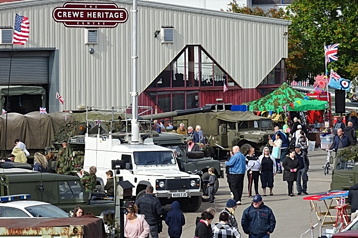 Visitors enjoy the event at Crewe Heritage Centre (1)