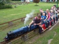 Hundreds enjoy South Cheshire Model Engineering Society open day