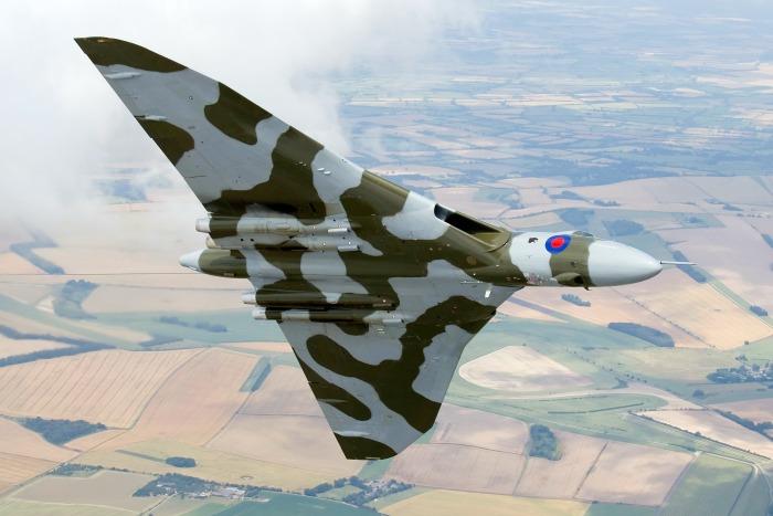 Vulcan airplane