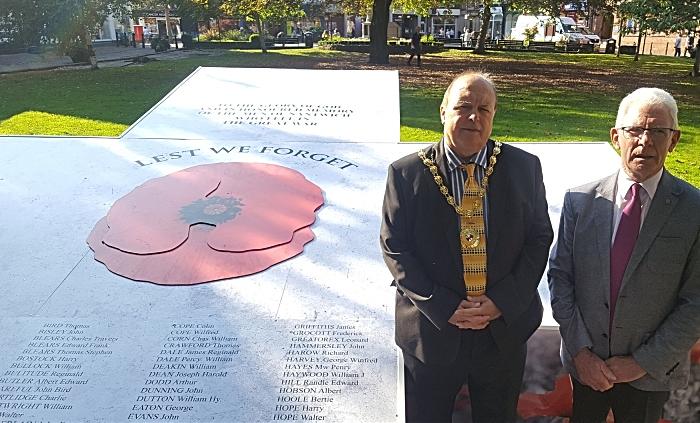 WW1 Commemoration 2 - tribute