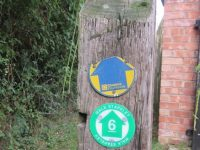 New waymarkers unveiled for Stapeley parish walks