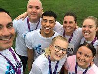 Watts staff in Nantwich complete 10k challenge for St Luke's Hospice