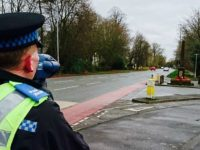 "Nantwich officers stage ""week of speed"" road safety campaign"