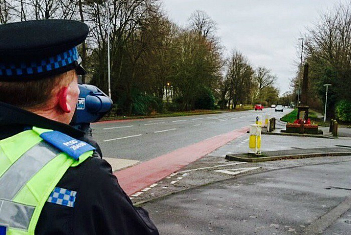 Week of speed, Nantwich police