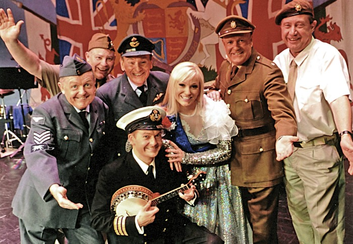 wartime show We'll Meet Again show at Crewe Lyceum
