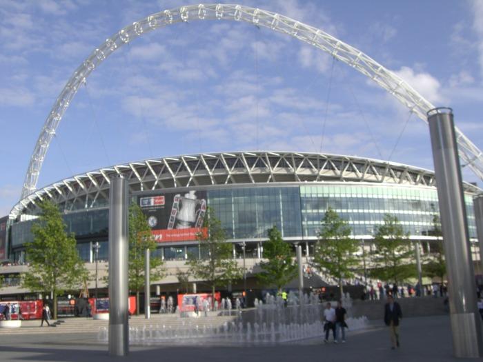 Wembley Stadium, pic under creative commons
