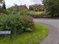 Double yellow lines plan for Western Avenue in Nantwich