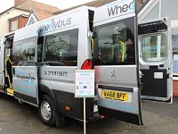 More than 100 attend Overwater Wheelybus officially launched