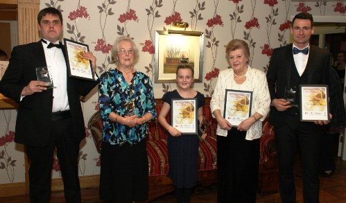 Winners' joy at Crewe & Nantwich Community Awards 2014