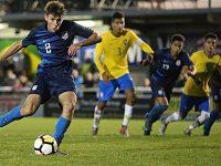 USA U17s beat Brazil 3-2 in youth tournament clash at Weaver Stadium