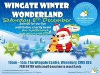 Wingate Centre  Wonderland in Wrenbury launches on December 8