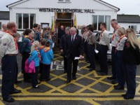 Wistaston villagers remember fallen heroes at Memorial Hall service