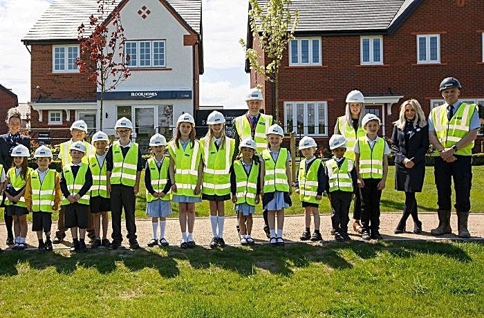 Wistaston Church Lane Academy pupils at Bloor Homes Wistaston Brook development_2 (1)