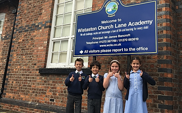 funding - Wistaston Church Lane children - DfE funding