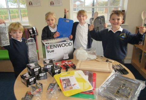 Wistaston pupils collect 31,000 vouchers to bag free sports kit