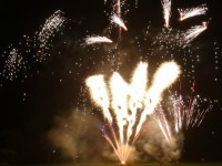 Hundreds of families enjoy Wistaston fireworks display