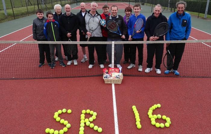 Wistaston Jubiliee Tennis Club - Sport Relief 2016 supporters