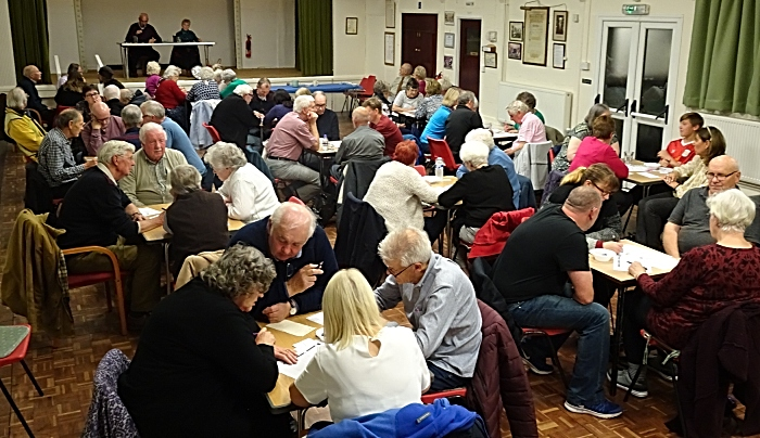 Wistaston Memorial - The quiz in action