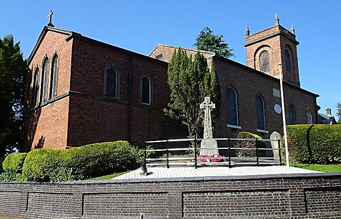 Wistaston & Rope War Memorial adjacent to St Mary's Church Wistaston (1) (1)