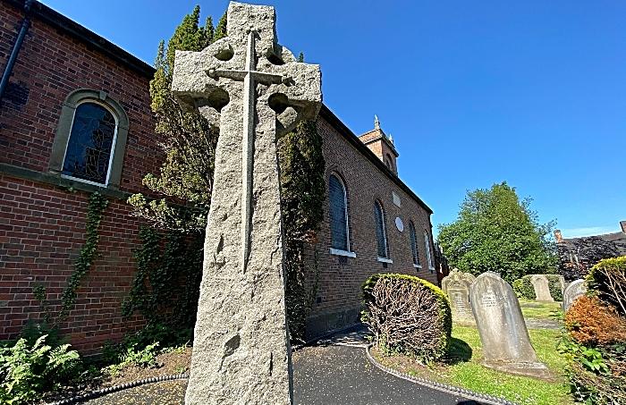 Wistaston & Rope War Memorial adjacent to St Mary's Church Wistaston (3)