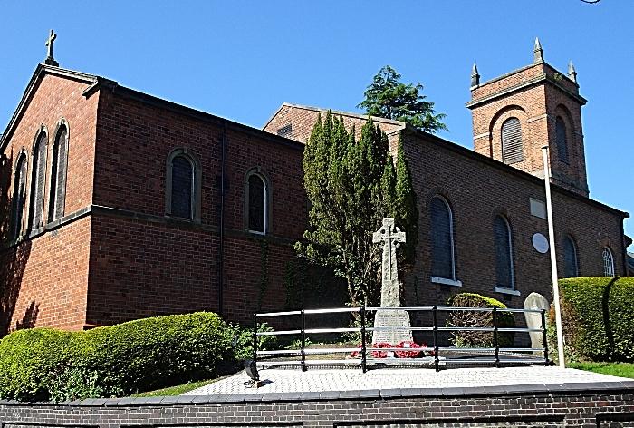 Wistaston & Rope War Memorial adjacent to St Mary's Church Wistaston (1) (2) (1)
