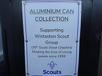 Wistaston Scout Group sets up aluminium can collection scheme