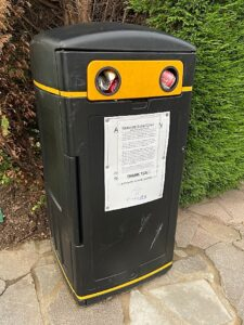 Wistaston Scout Group - an aluminium can collection bin (1)