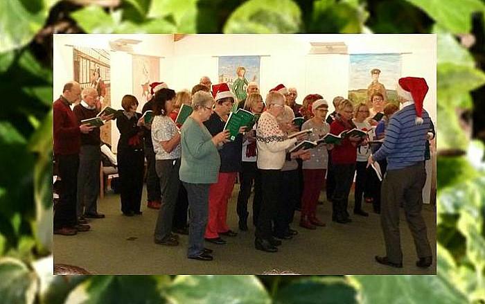 Wistaston Singers at Nantwich Museum 2015