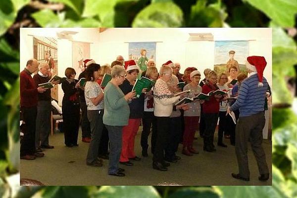 celebration - Wistaston Singers at Nantwich Museum 2015