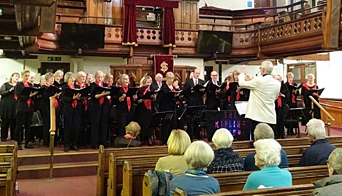 Wistaston Singers conducted by Musical Director Phil Houghton (1)