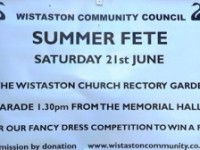 Hundreds of families expected at Wistaston Village Fete