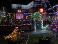 Nantwich and Crewe householders turn on festive light extravaganza!