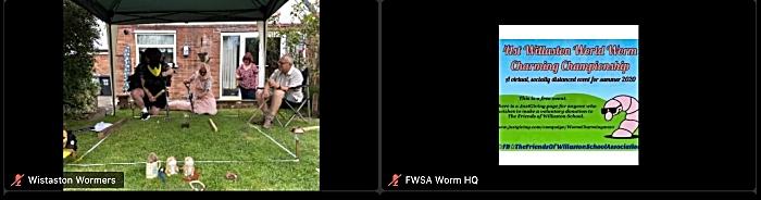 Wistaston Wormers take part via Zoom (1)