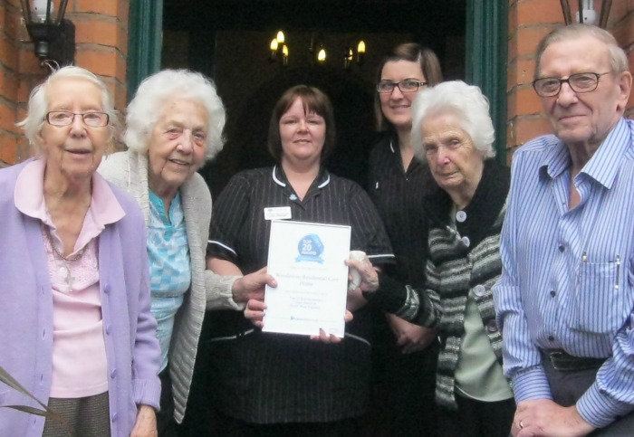 Woodeaves care home in Nantwich