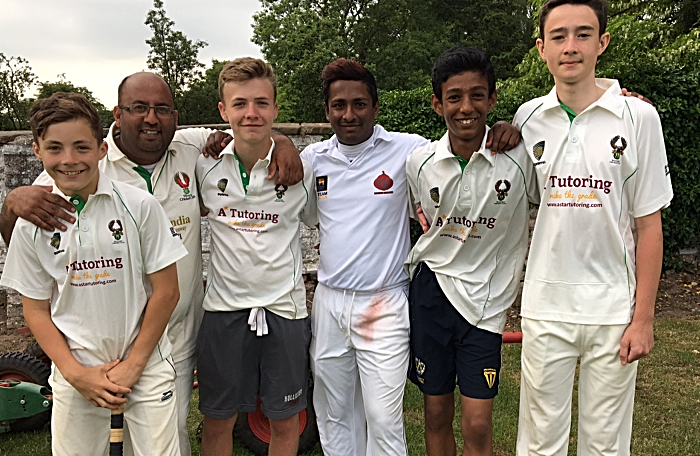 Woore CC - four academy players play for 1st team