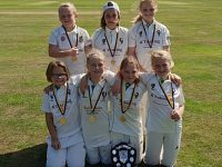 Woore CC U11s girls win Shropshire Softball Cup Final